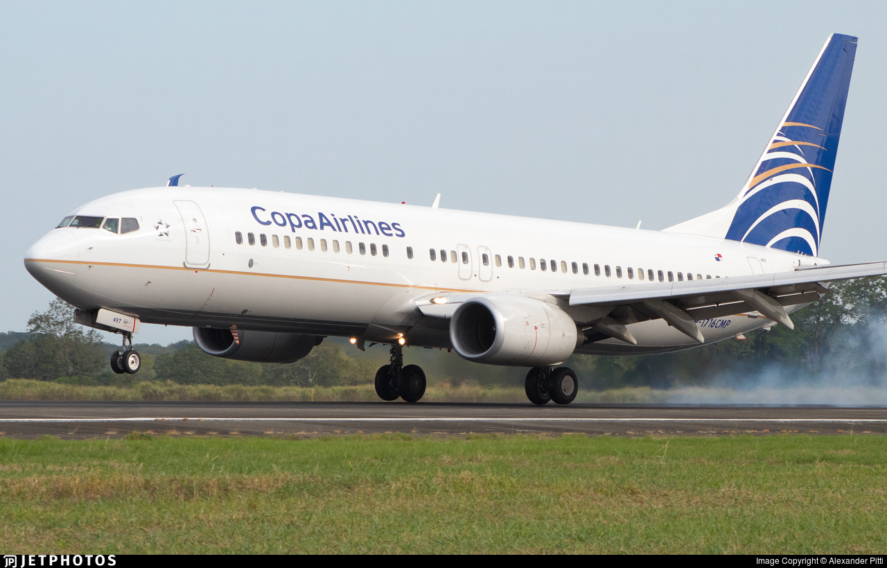 HP-1716CMP - Boeing 737-8V3 - Copa Airlines
