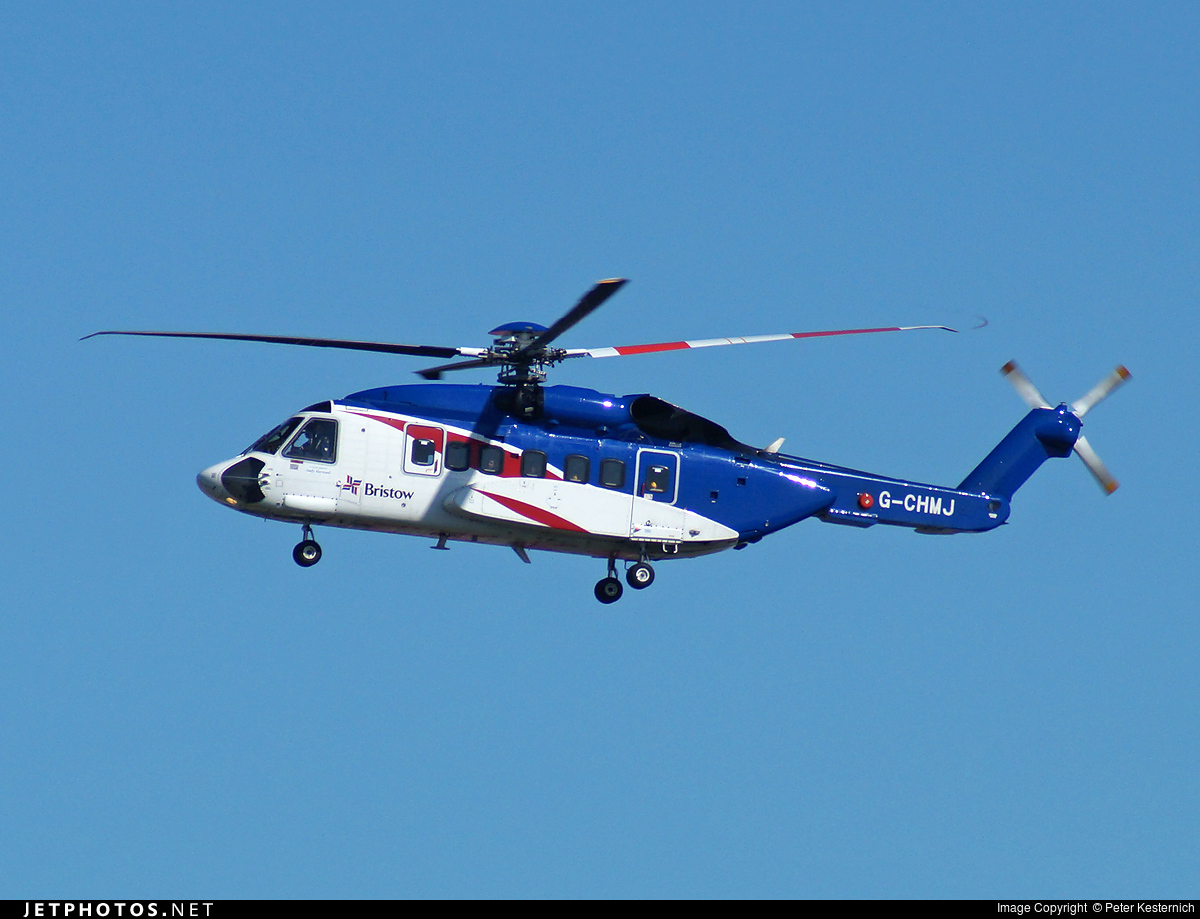 G-CHMJ - Sikorsky S-92A Helibus - Bristow Helicopters