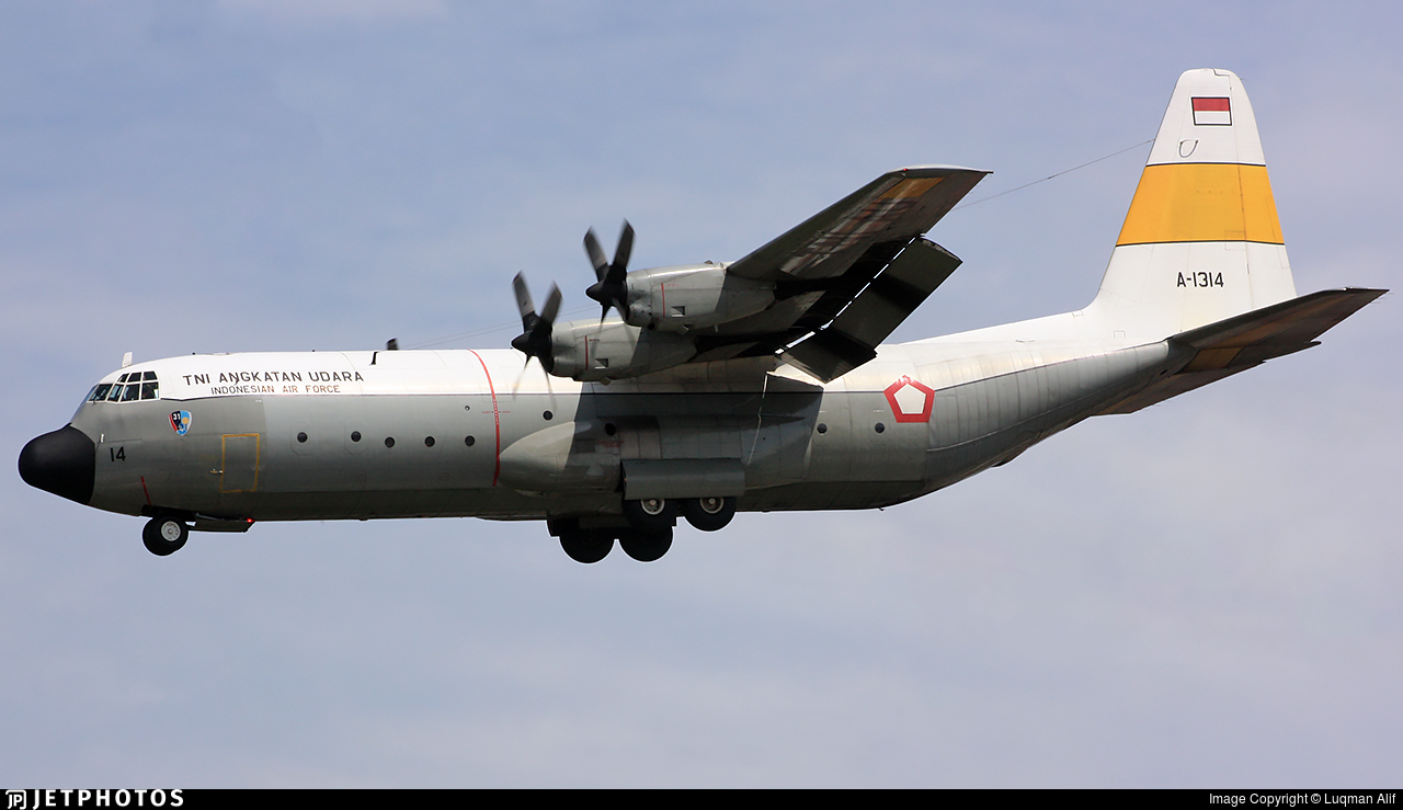 A-1314 - Lockheed L-100-30 Hercules - Indonesia - Air Force