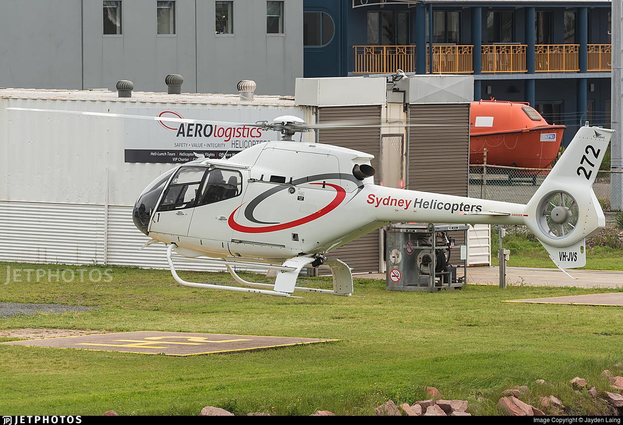 VH-JVS - Eurocopter EC 120B Colibri - Sydney Helicopters
