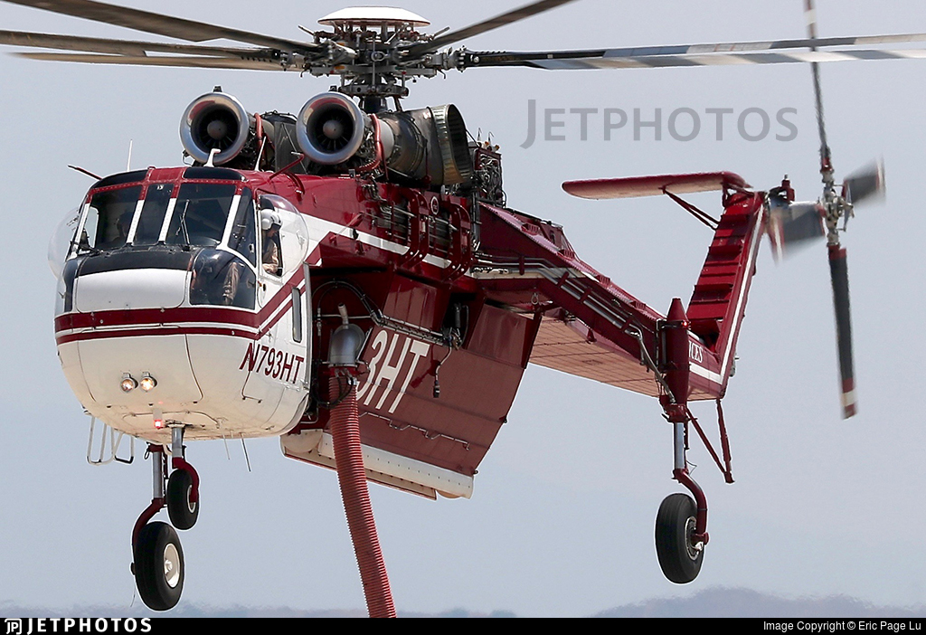 N793HT - Sikorsky CH-54A Skycrane - Helicopter Transport Services
