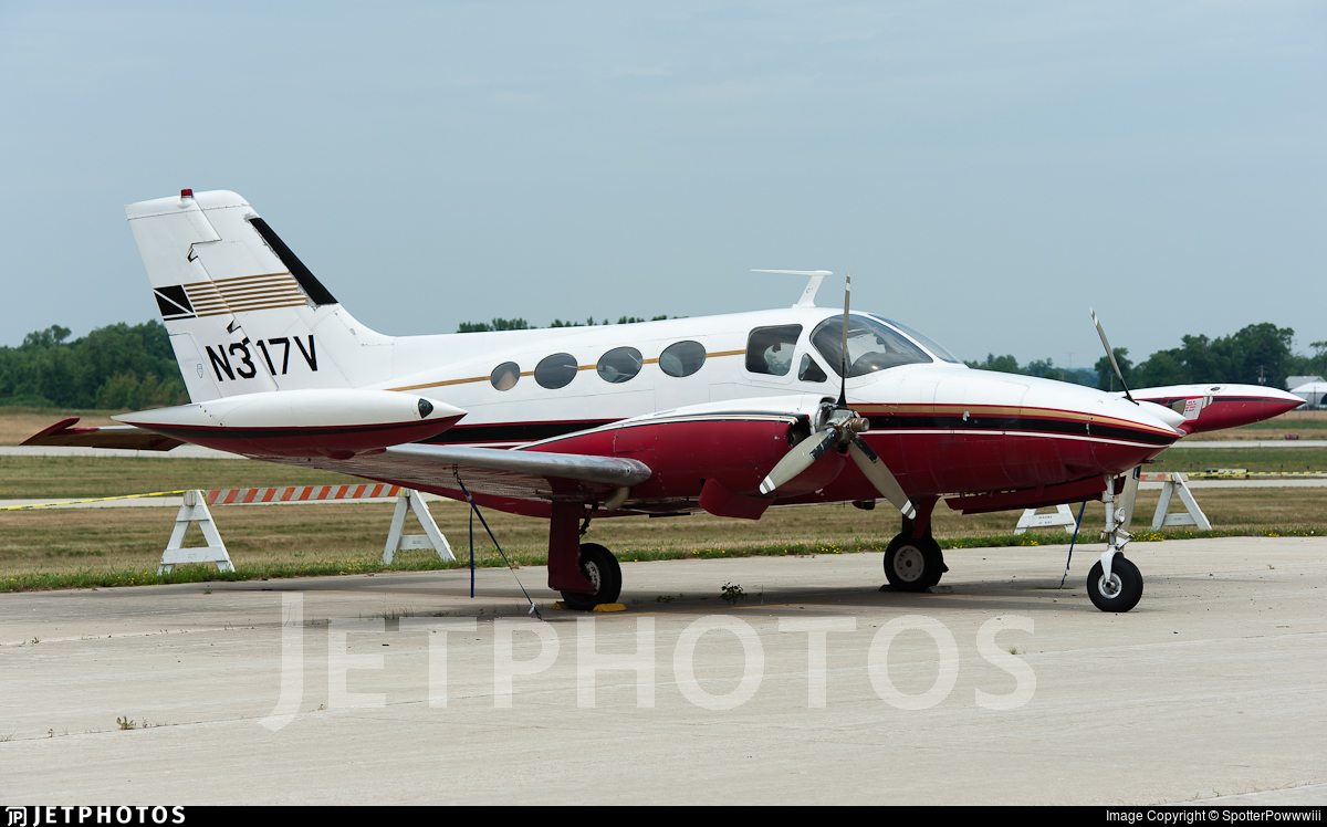N317V - Cessna 421 Golden Eagle - Private