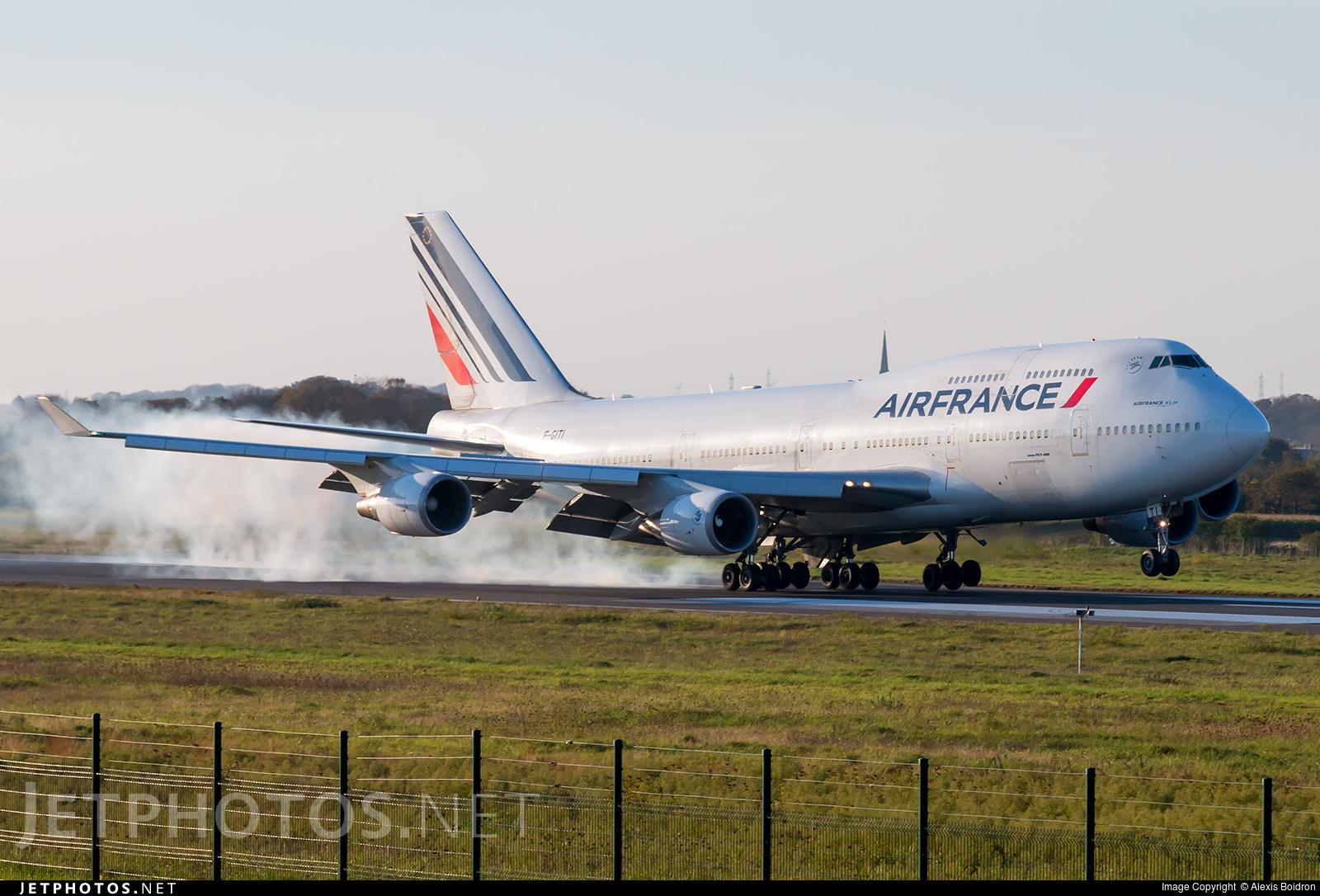 f giti boeing 747 428 air france alexis boidron jetphotos. Black Bedroom Furniture Sets. Home Design Ideas