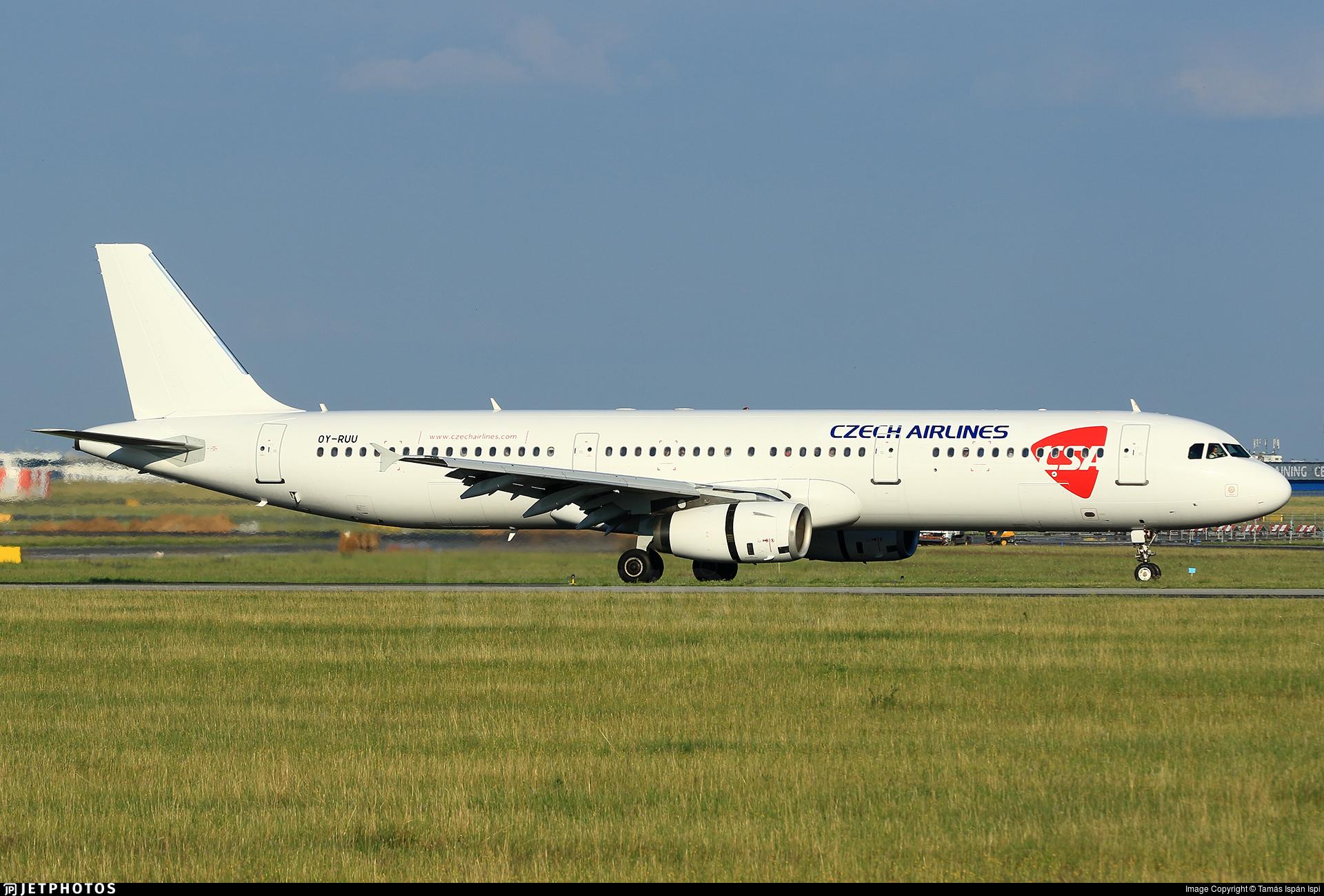 OY-RUU - Airbus A321-231 - CSA Czech Airlines (Danish Air Transport - DAT)