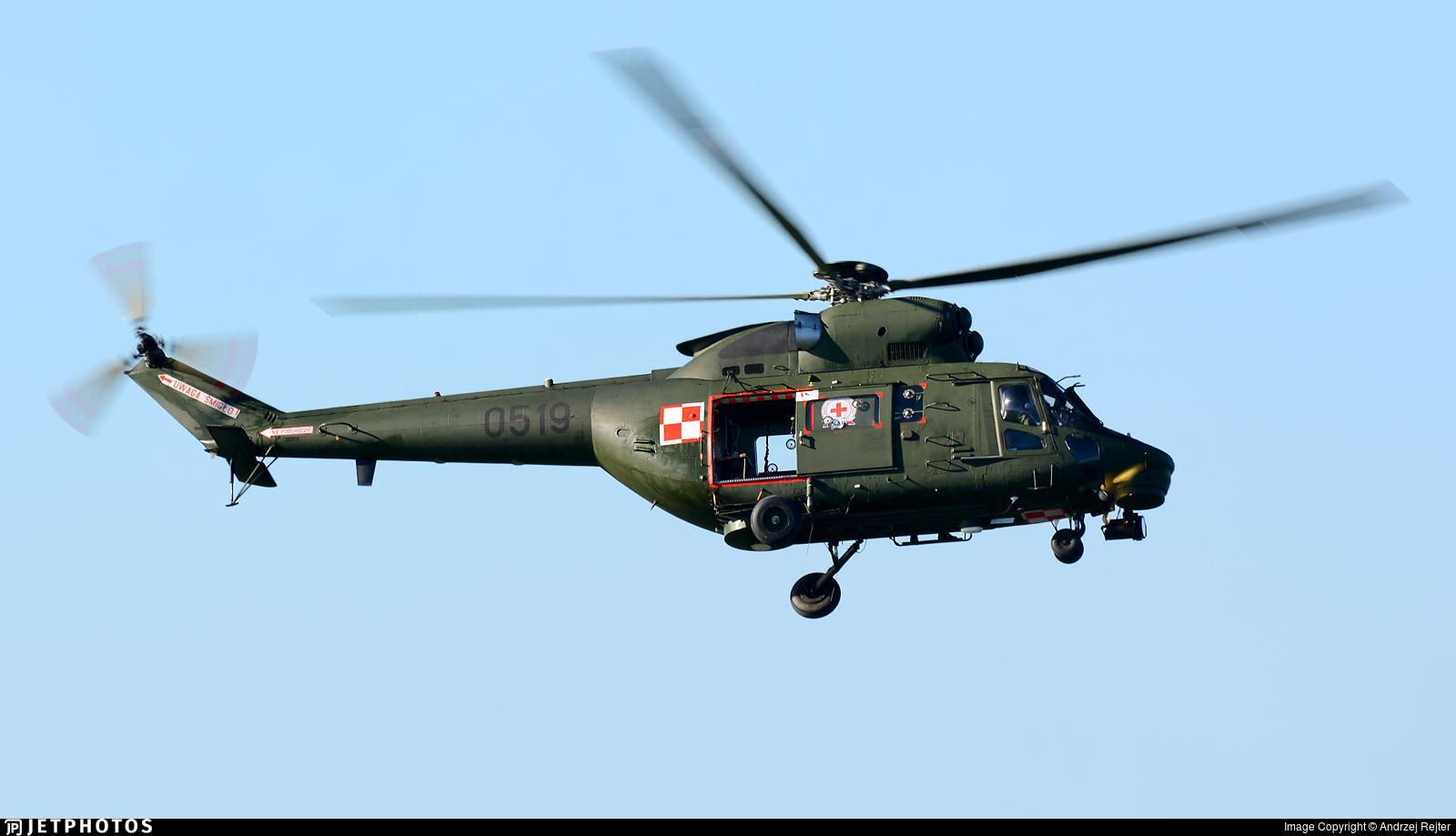 0519 - PZL-Swidnik W3 Sokol - Poland - Air Force