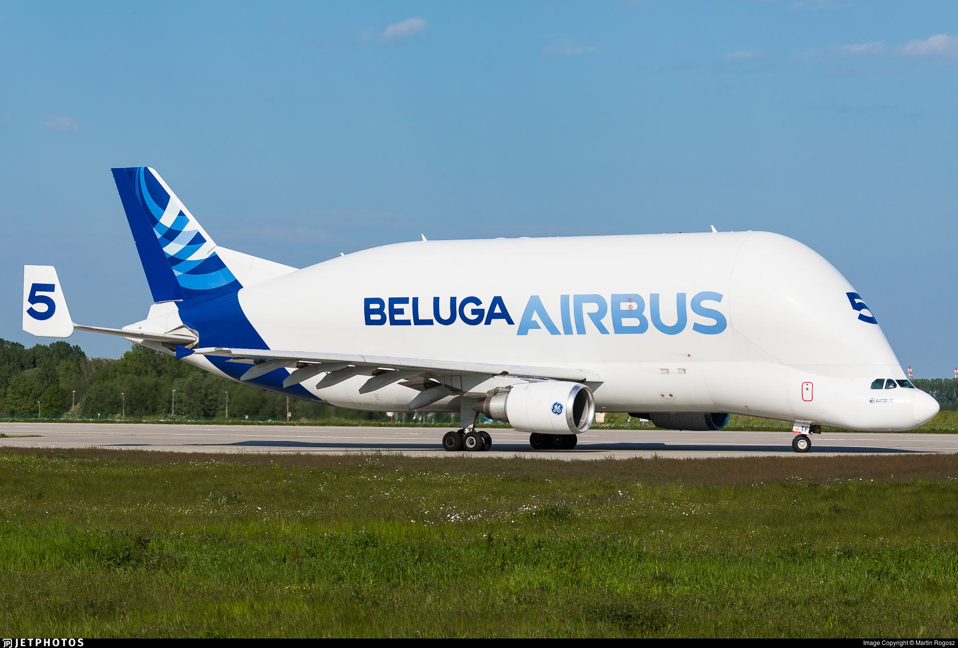 F-GSTF - Airbus A300B4-608ST Super Transporter - Airbus Transport International