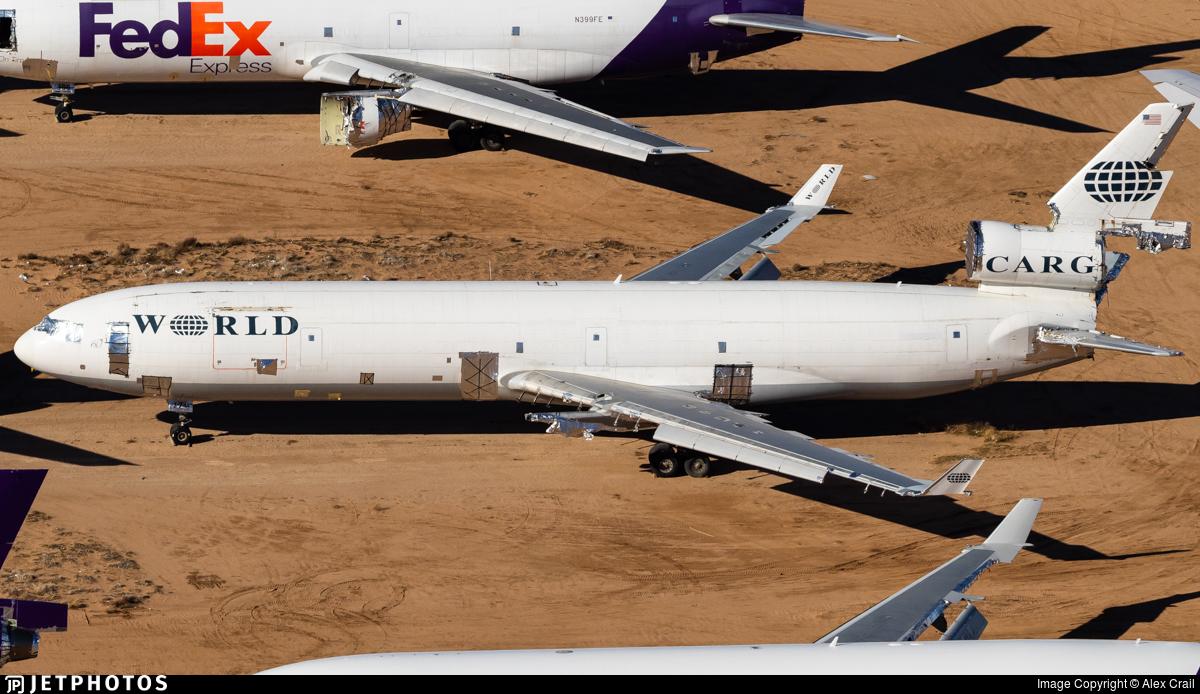 N68093 - McDonnell Douglas MD-11(F) - World Airways Cargo
