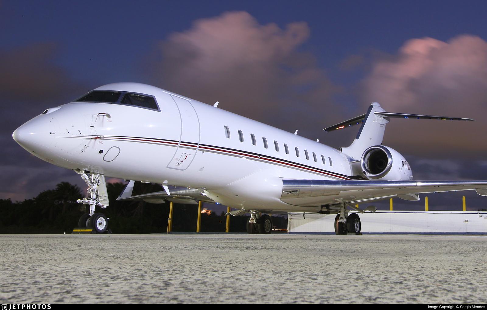 N117QS - Bombardier BD-700-1A11 Global 5000 - NetJets Aviation