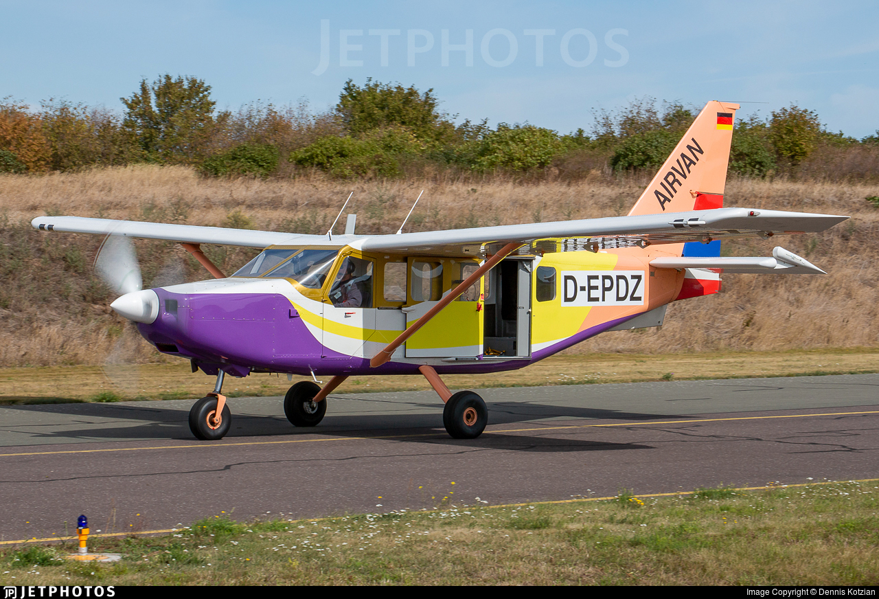 D-EPDZ - Gippsland GA-8-TC320 Airvan - Private