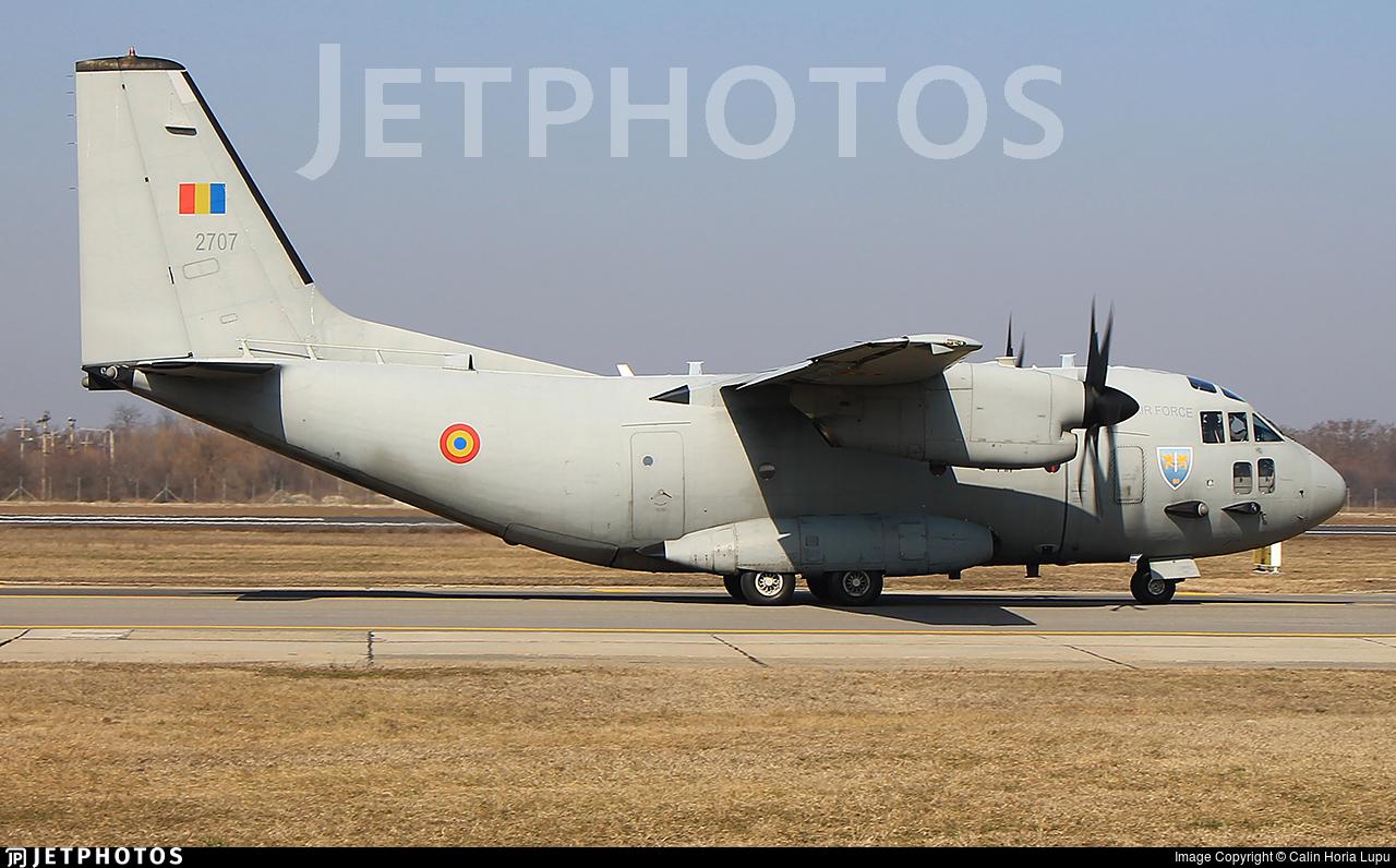 2707 - Alenia C-27J Spartan - Romania - Air Force