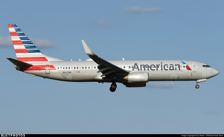 N927NN - Boeing 737-823 - American Airlines