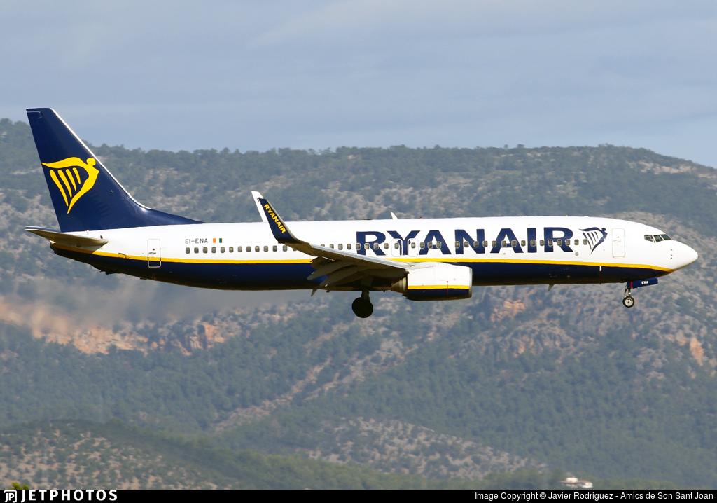 EI-ENA - Boeing 737-8AS - Ryanair