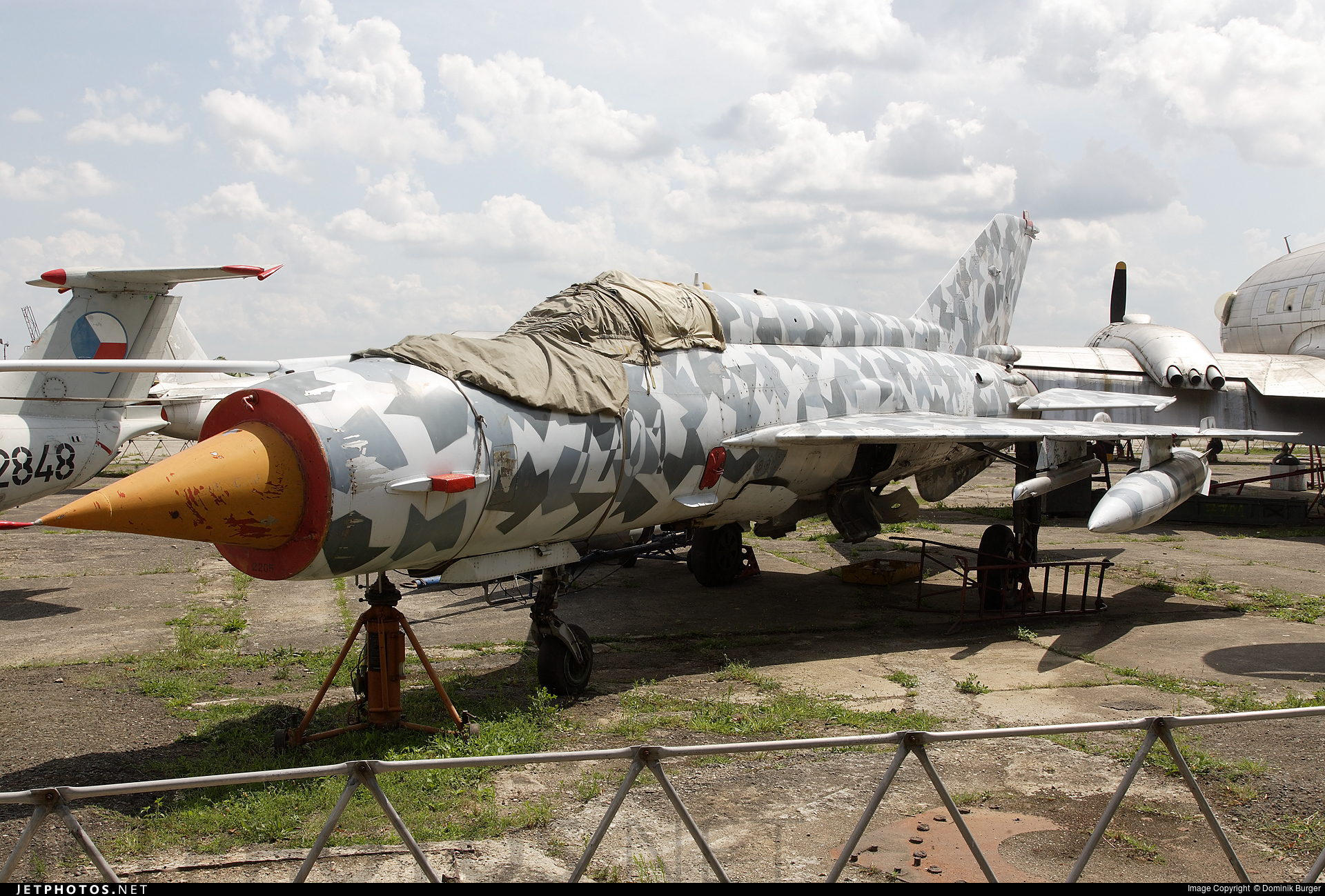 7701 - Mikoyan-Gurevich Mig-21 Fishbed - Czech Republic - Air Force