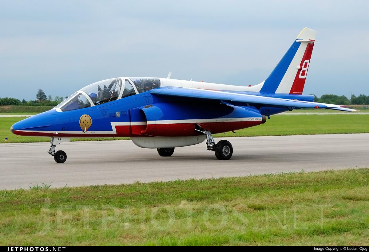 E73 - Dassault-Breguet-Dornier Alpha Jet E - France - Air Force