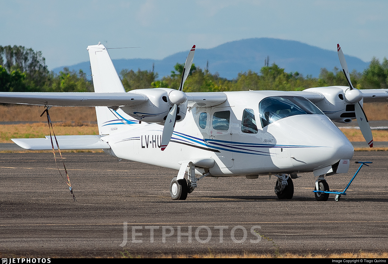 LV-HUT - Tecnam P2006T - Private