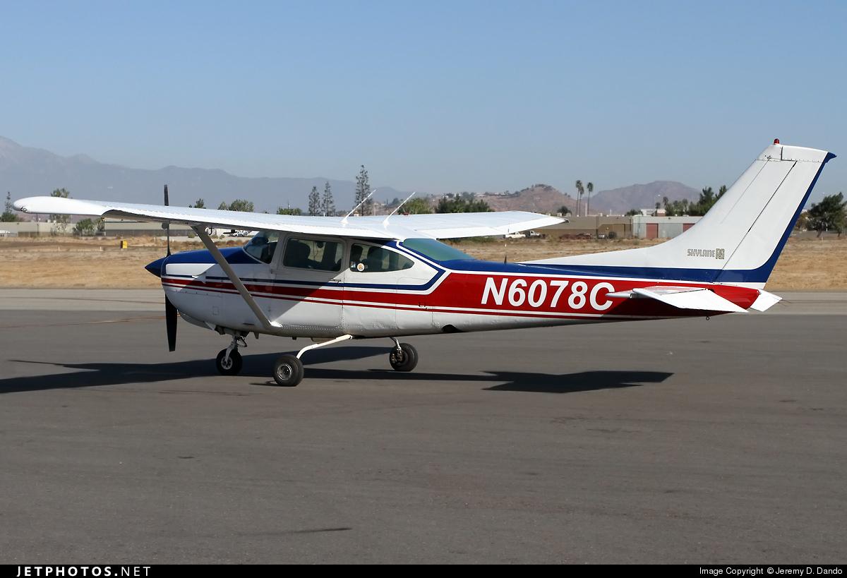 N6078C - Cessna R182 Skylane RG - Private