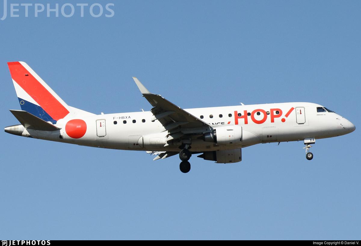 F-HBXA - Embraer 170-100LR - HOP! for Air France