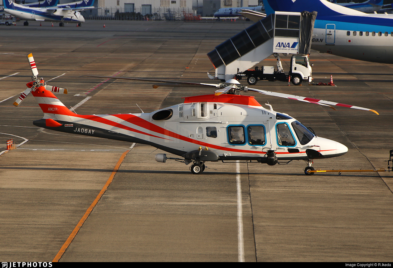 JA06AY - Agusta-Westland AW-169 - Private