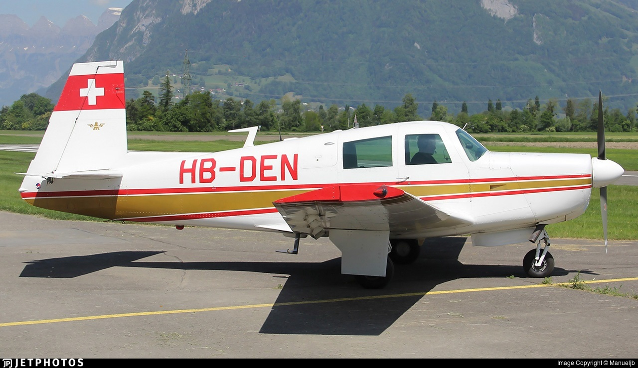 HB-DEN - Mooney M20E Super 21 - Private