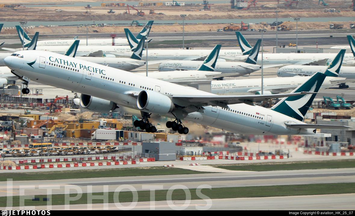 B-KQO - Boeing 777-367ER - Cathay Pacific Airways