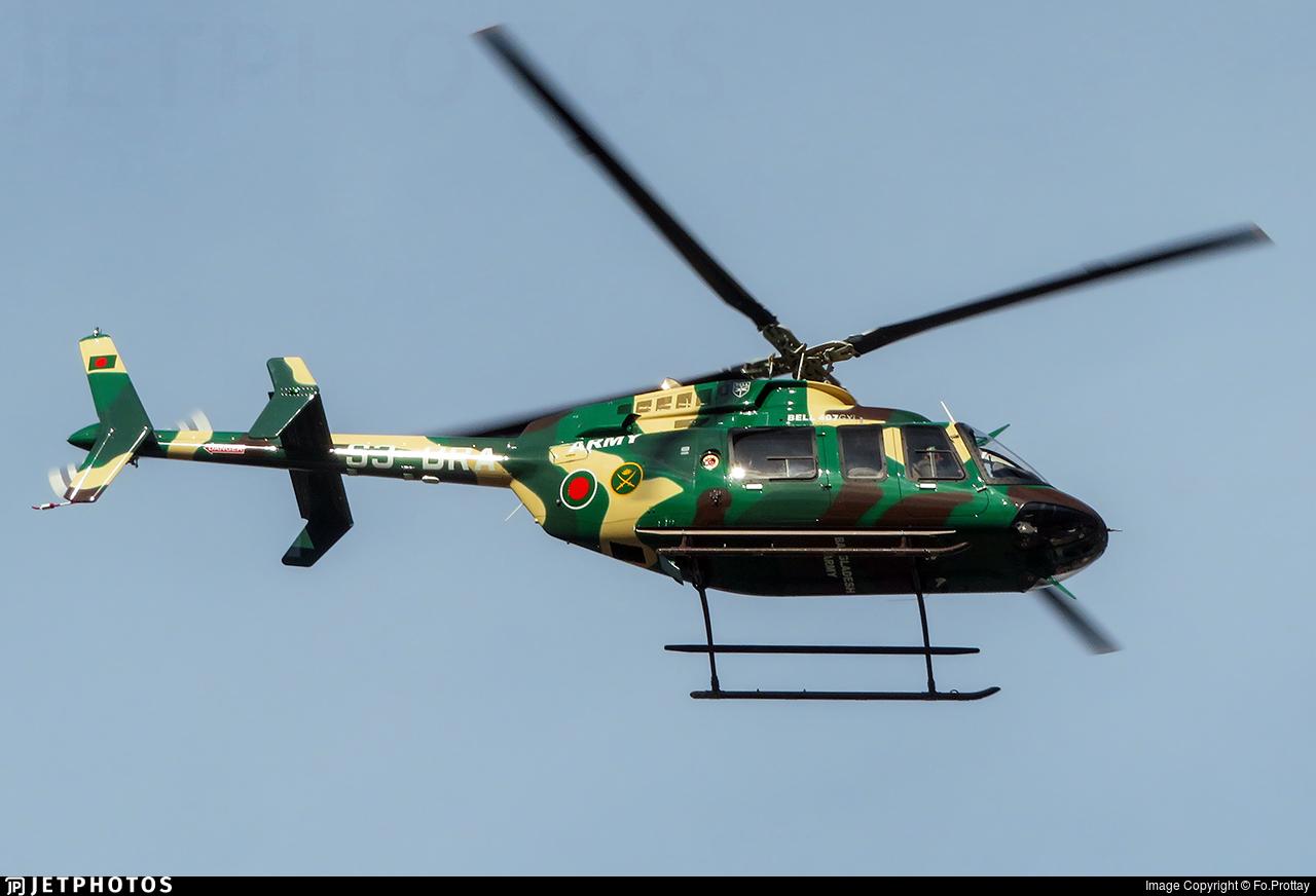 S3-BRA - Bell 407GXI - Bangladesh - Army Aviation