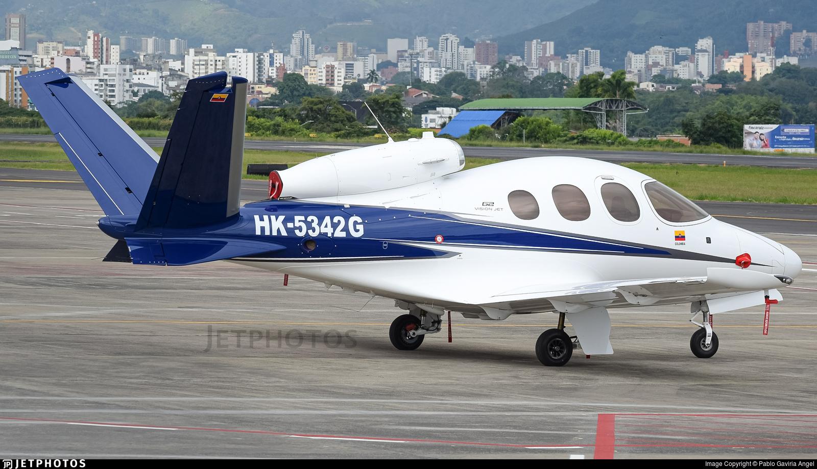 HK-5342G - Cirrus Vision SF50 G2 - Helistar Colombia