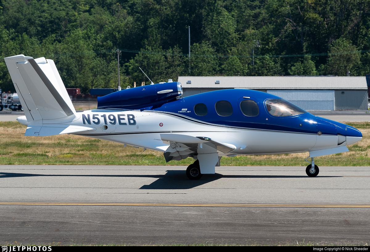 N519EB - Cirrus Vision SF50 G2 - Private