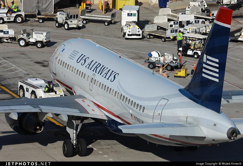 N746UW - Airbus A319-112 - US Airways