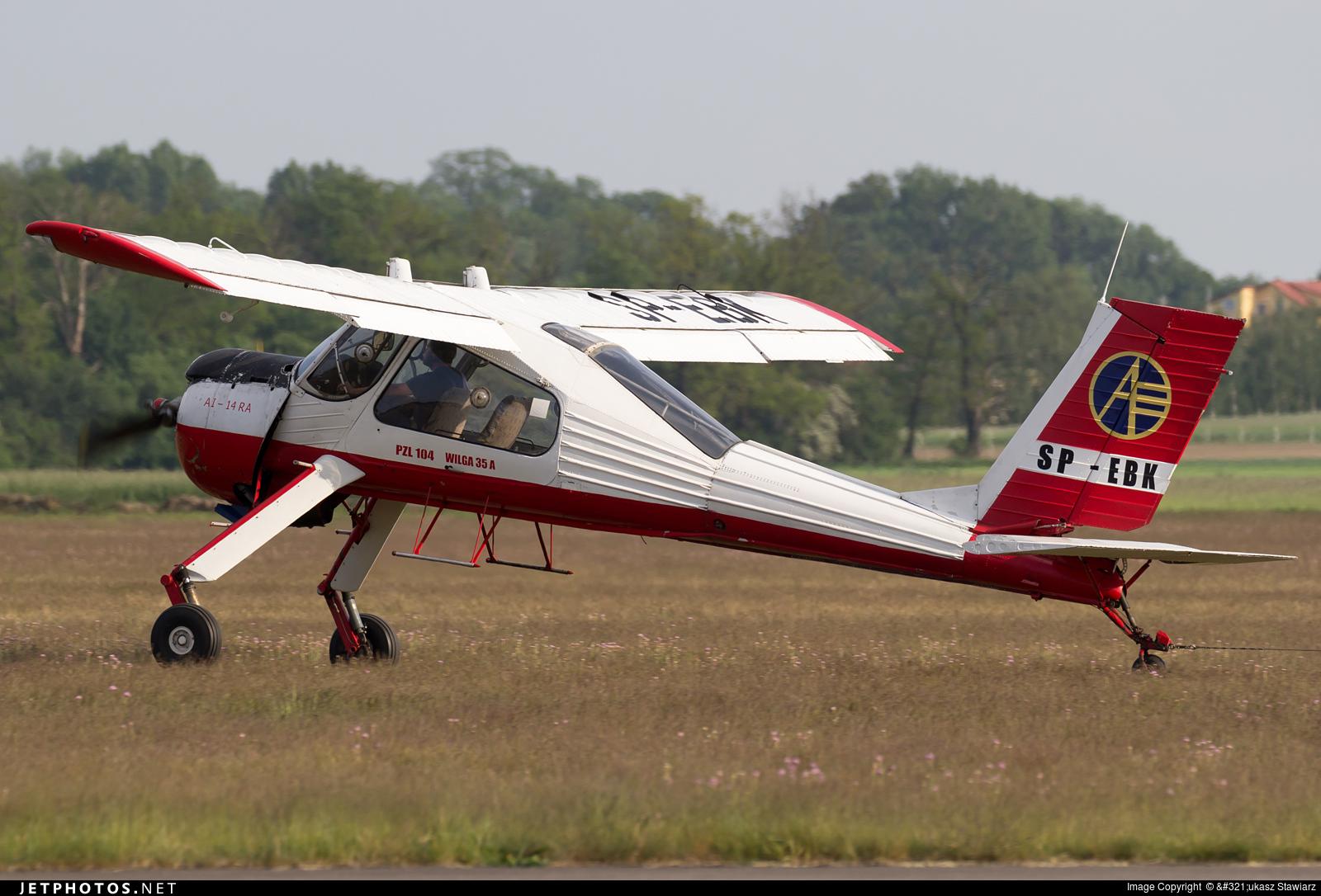 SP-EBK - PZL-Okecie 104 Wilga 35 - Aero Club - Wloclawski