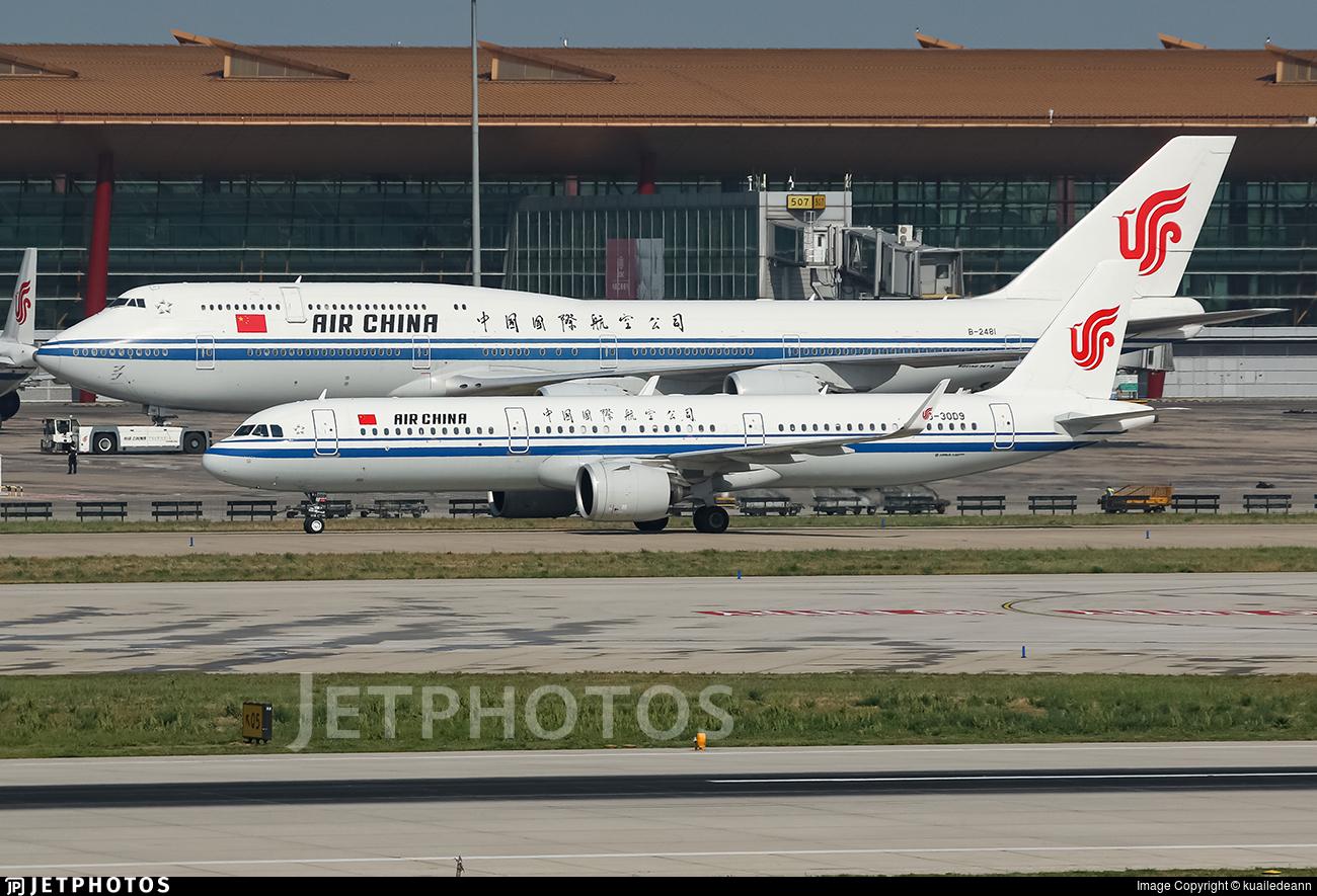 B-30D9 - Airbus A321-271N - Air China
