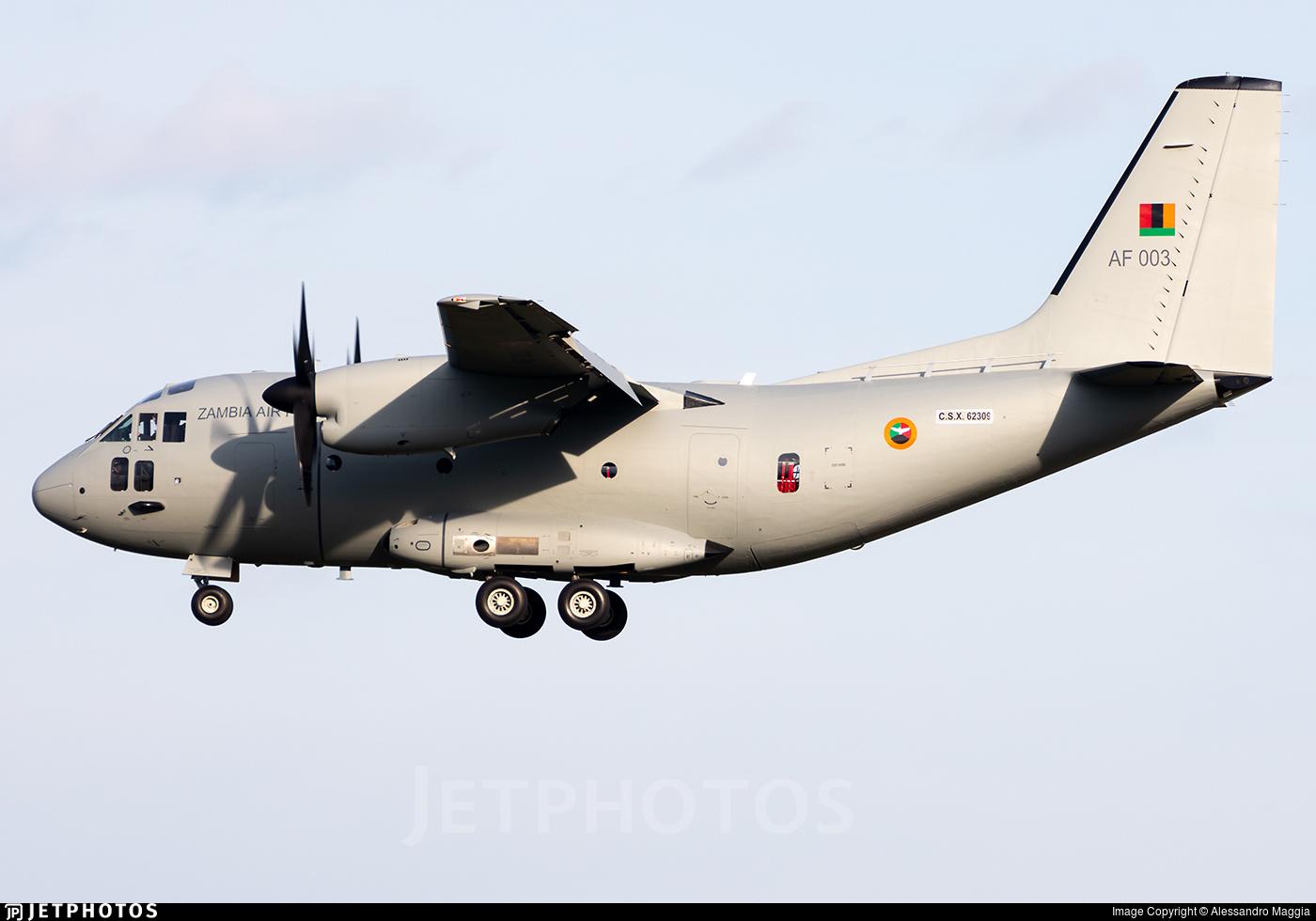 CSX62309 - Alenia C-27J Spartan - Zambia - Air Force