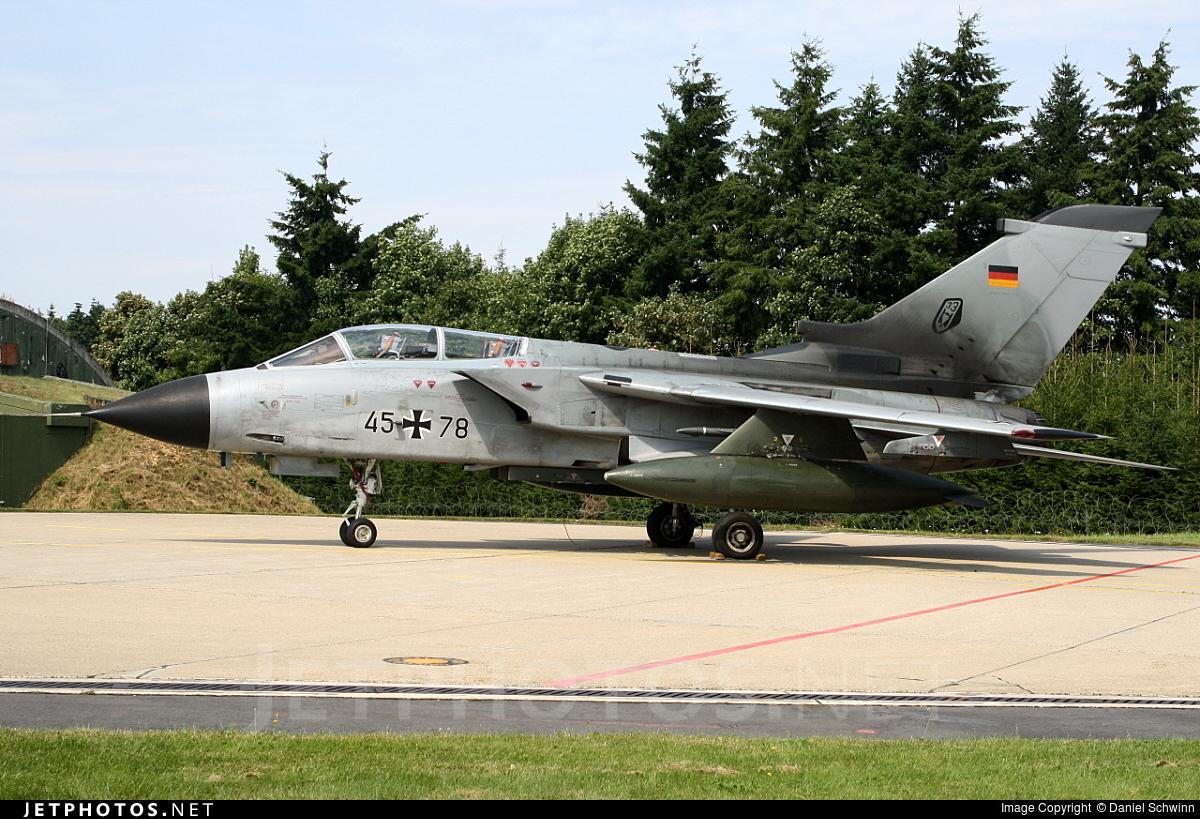 45-78 - Panavia Tornado IDS - Germany - Air Force