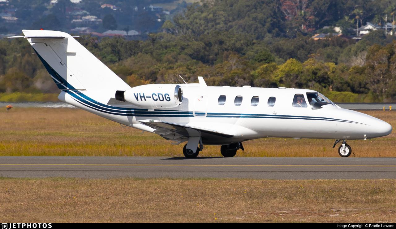 VH-CDG - Cessna 525 CitationJet 1 - Air Gold Coast