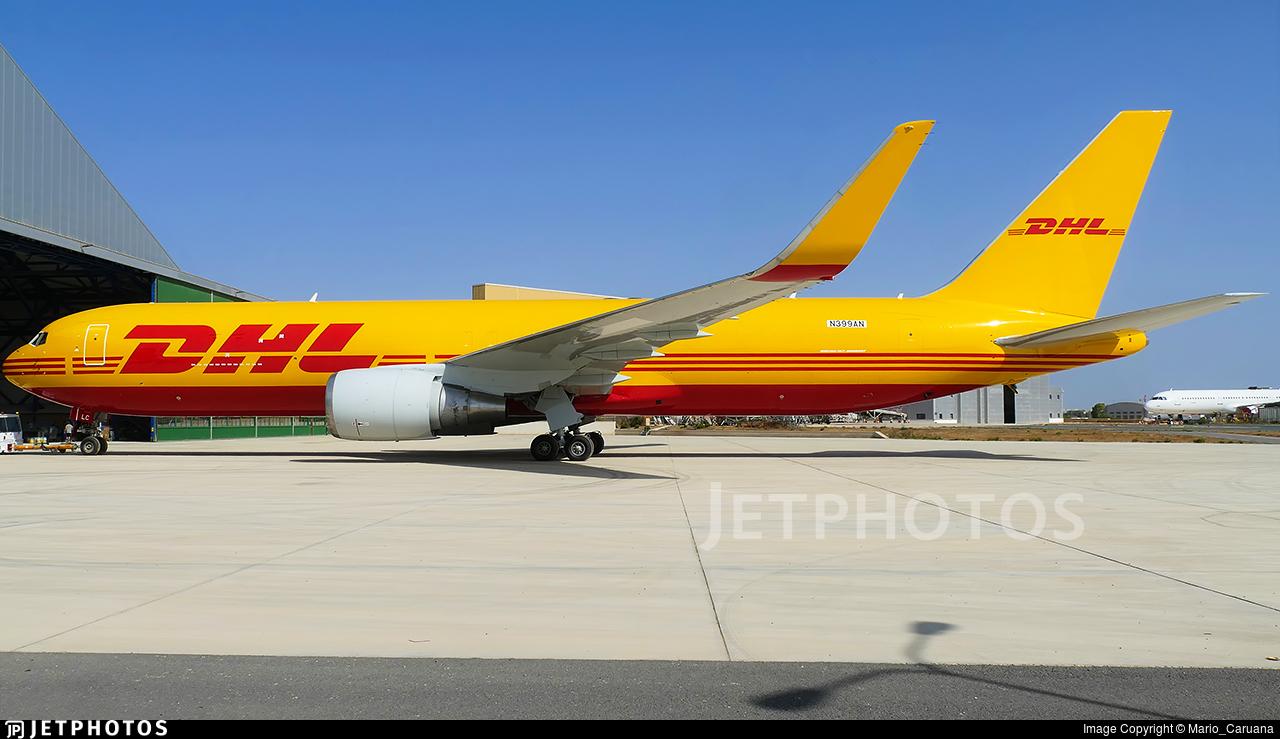 N399AN - Boeing 767-323(ER) - DHL Air