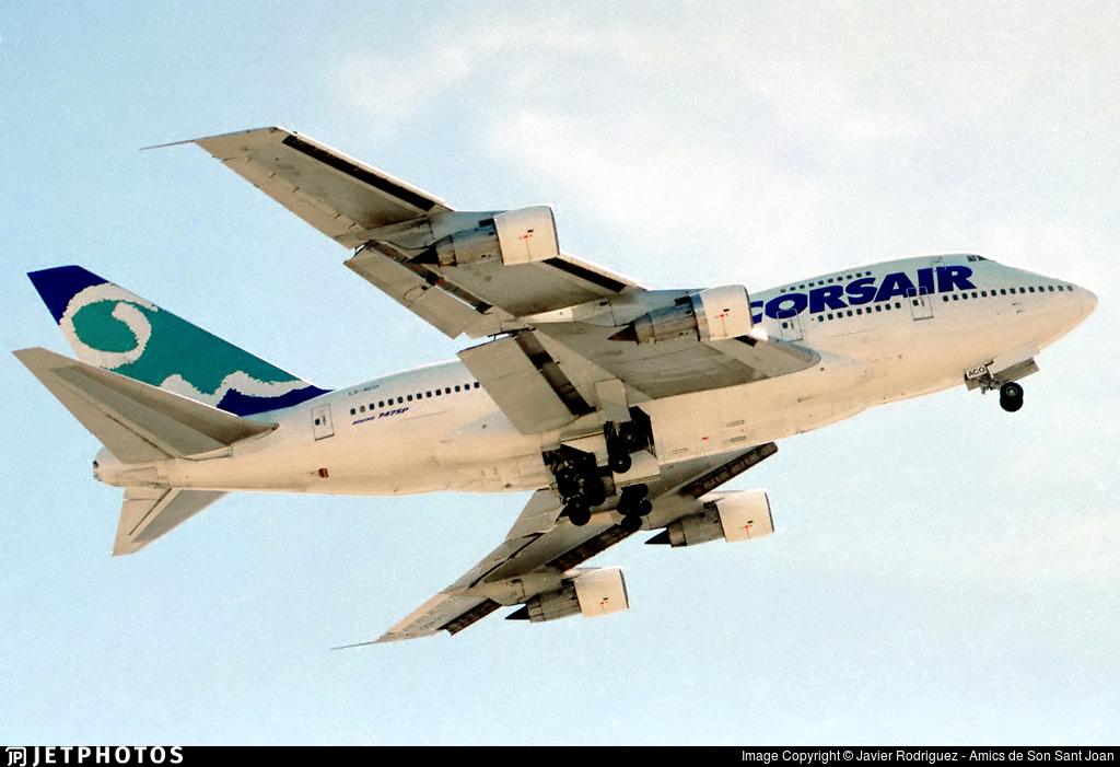 LX-ACO - Boeing 747SP-44 - Corsair