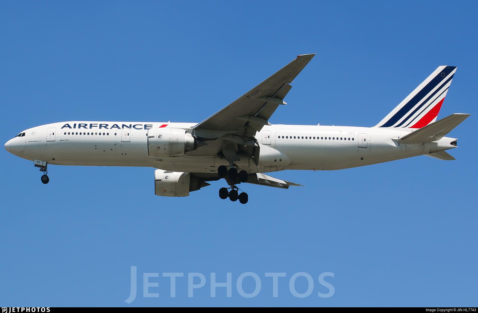 F-GSPI - Boeing 777-228(ER) - Air France