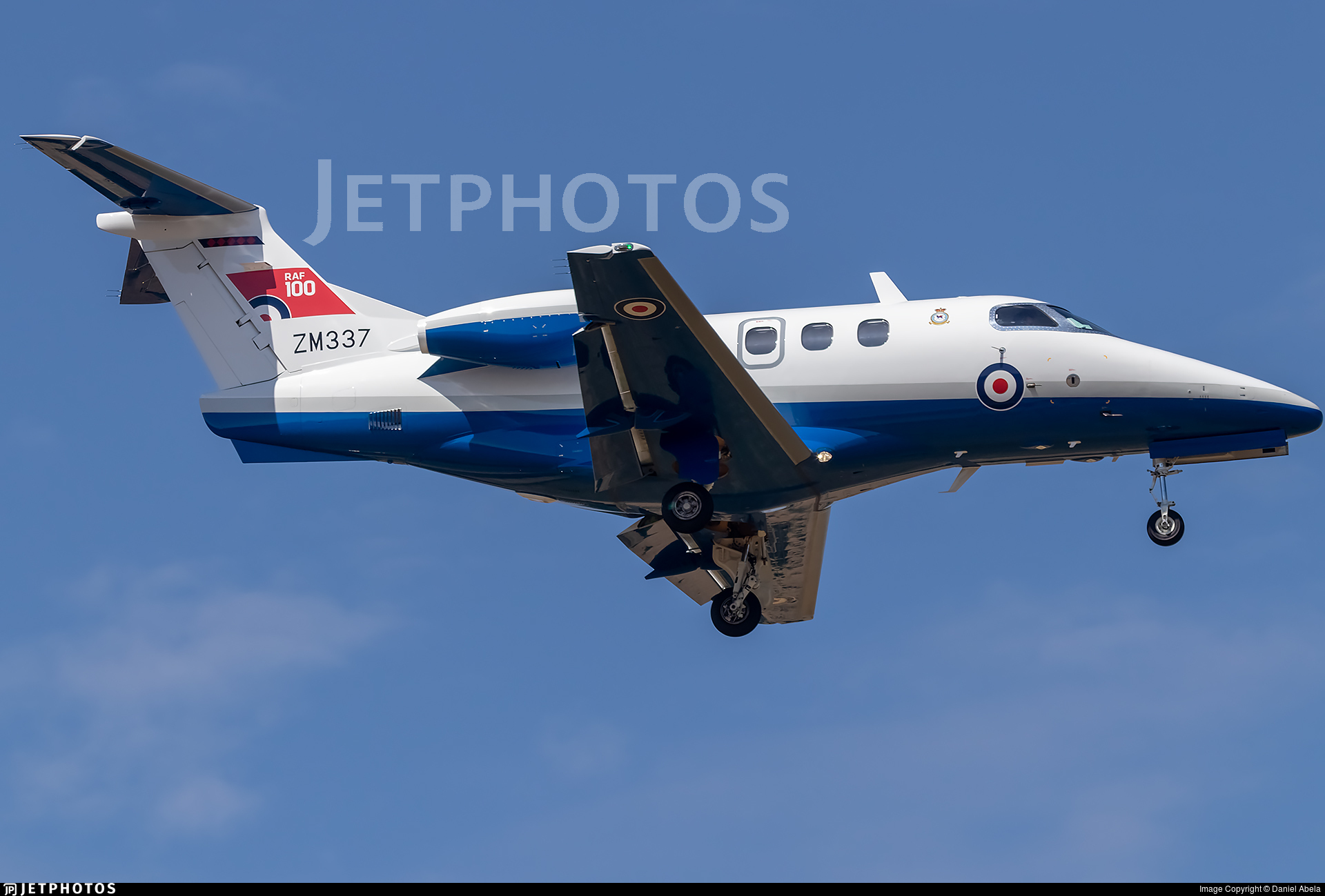 ZM337 - Embraer Phenom T.1 - United Kingdom - Royal Air Force (RAF)