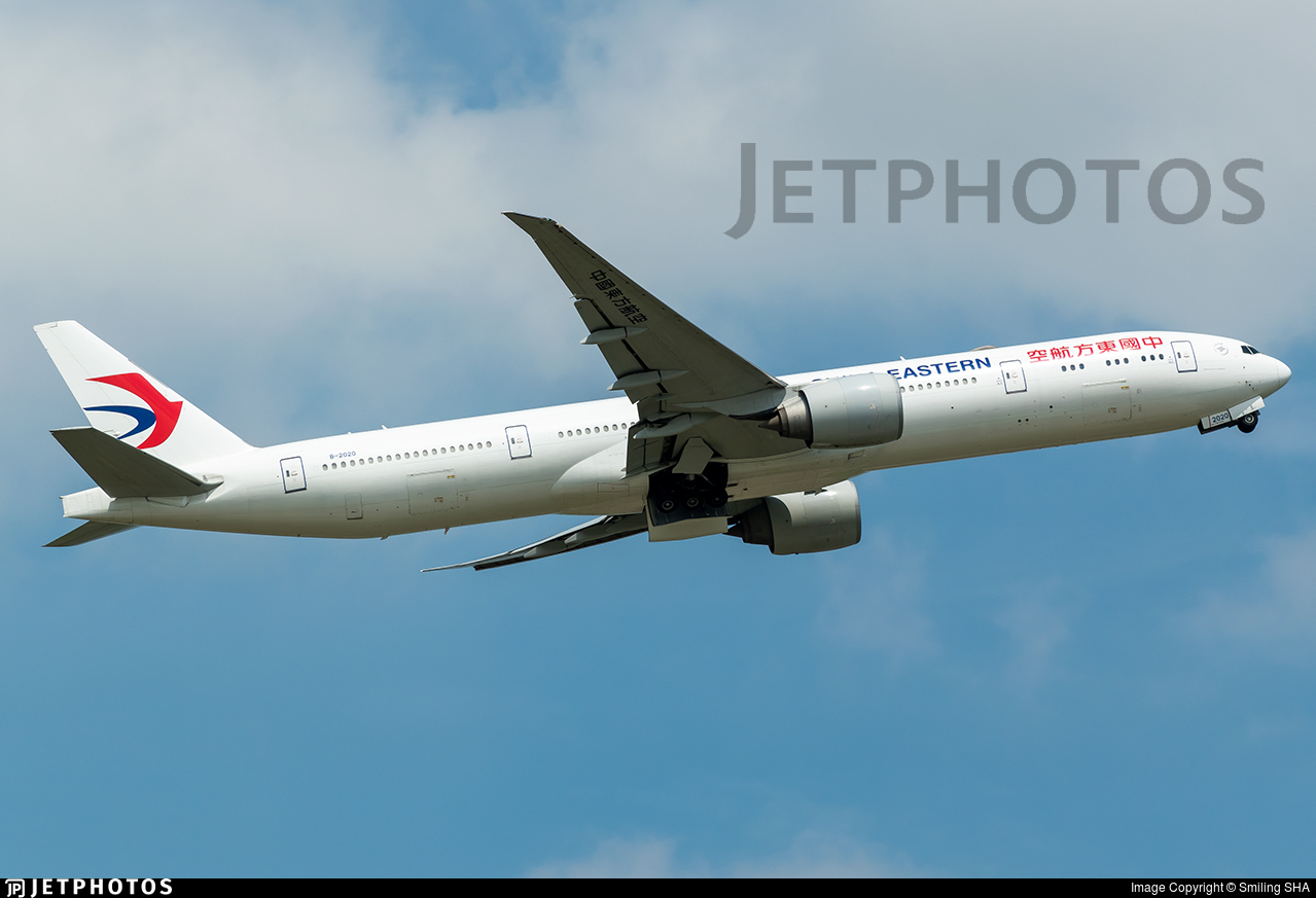 B-2020 - Boeing 777-39PER - China Eastern Airlines
