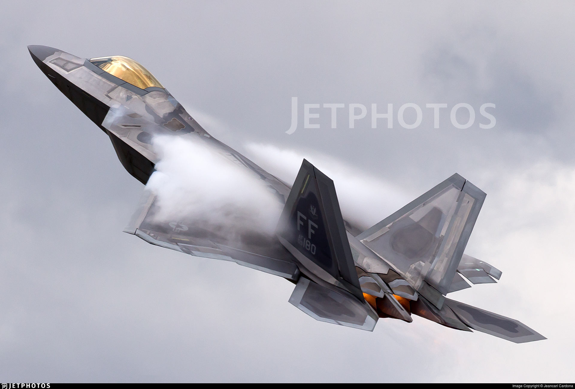 09-4180 - Lockheed Martin F-22A Raptor - United States - US Air Force (USAF)