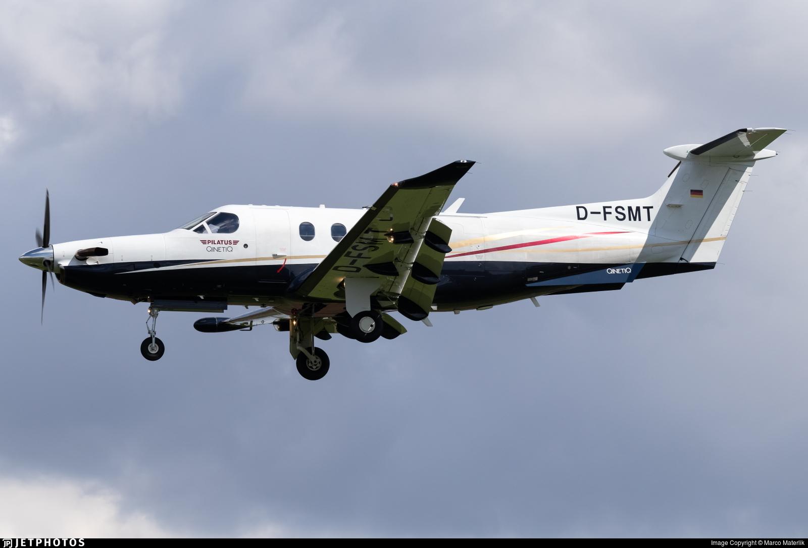 D-FSMT - Pilatus PC-12/47E - Private