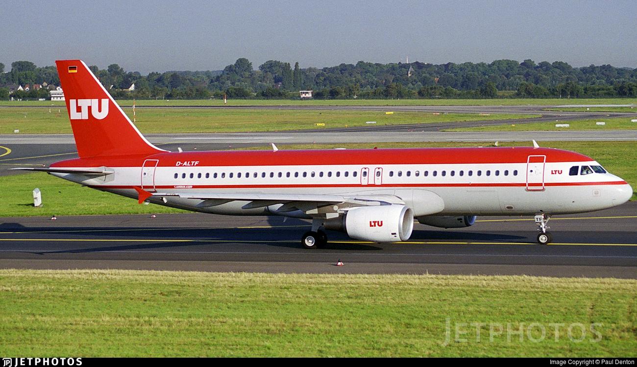 D-ALTF - Airbus A320-214 - LTU