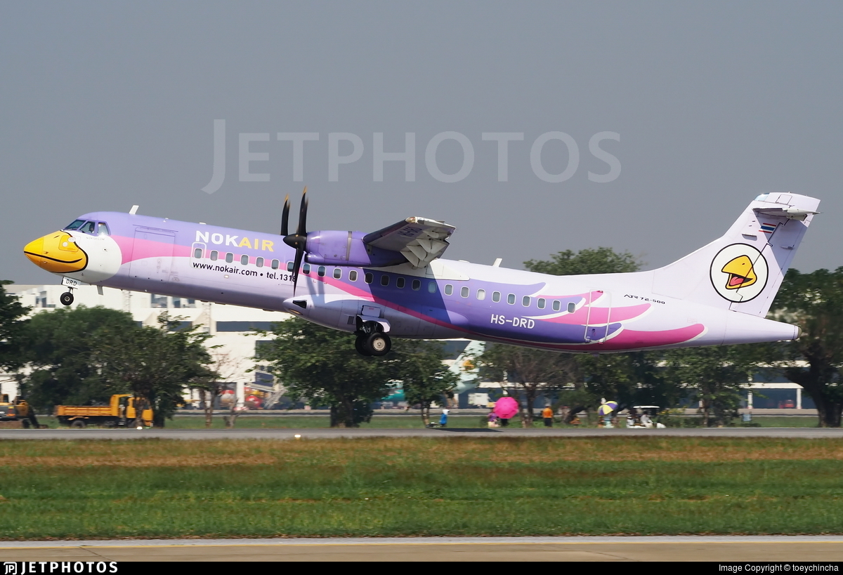 HS-DRD - ATR 72-212A(500) - Nok Air