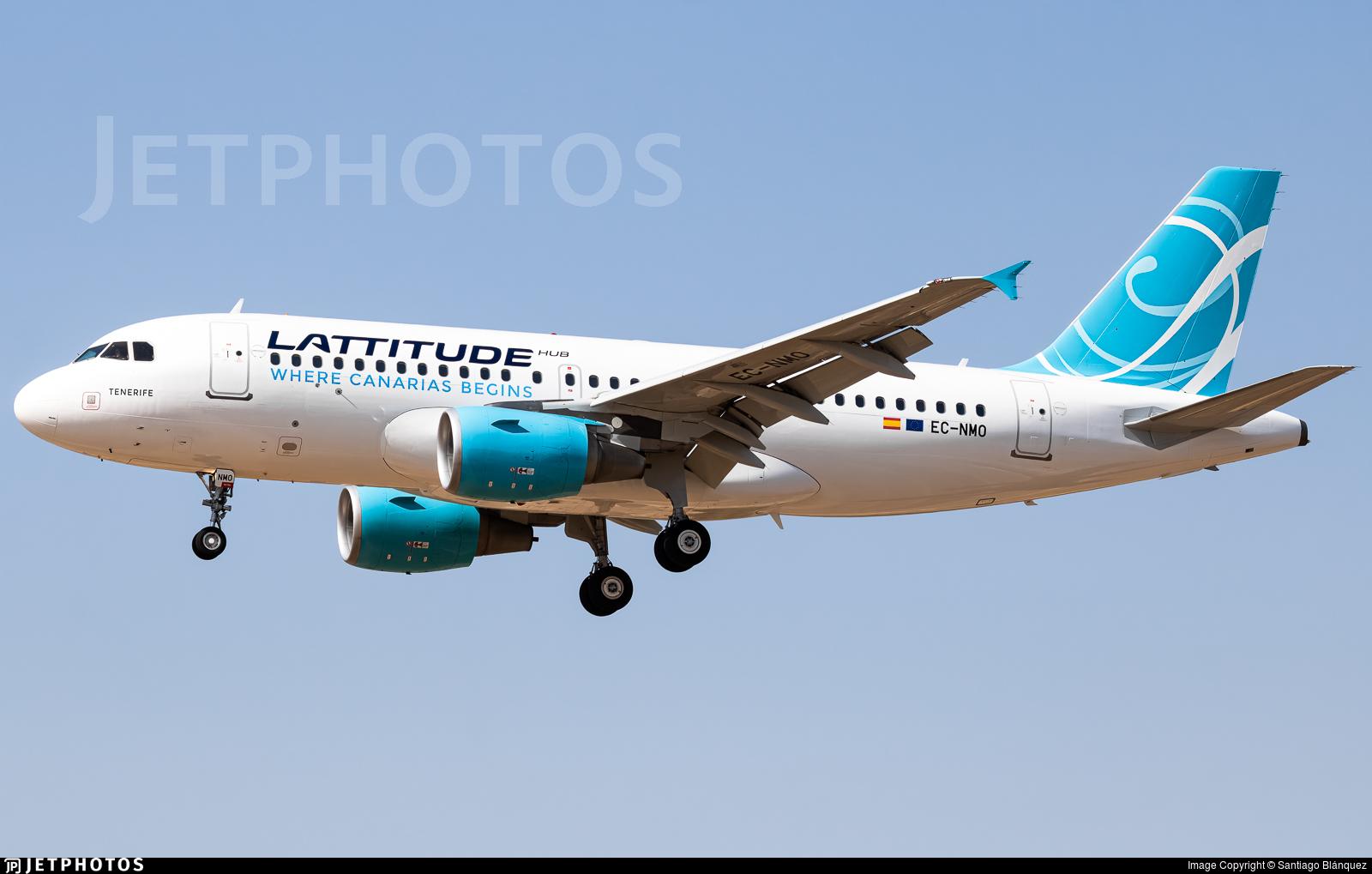 EC-NMO - Airbus A319-115 - Lattitude Hub (One Airways)