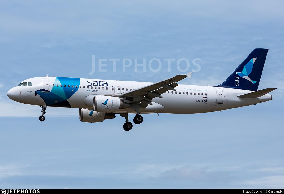 CS-TKO - Airbus A320-214 - SATA International