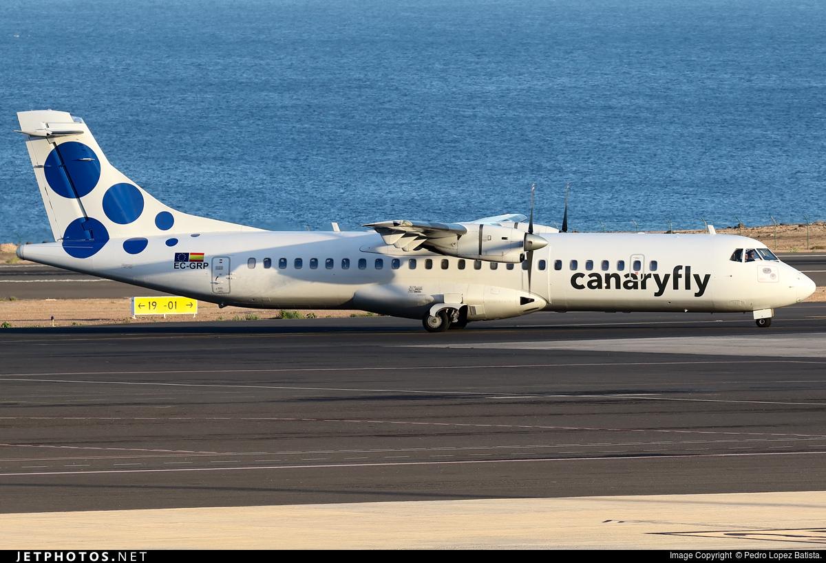 EC-GRP - ATR 72-202 - Canaryfly