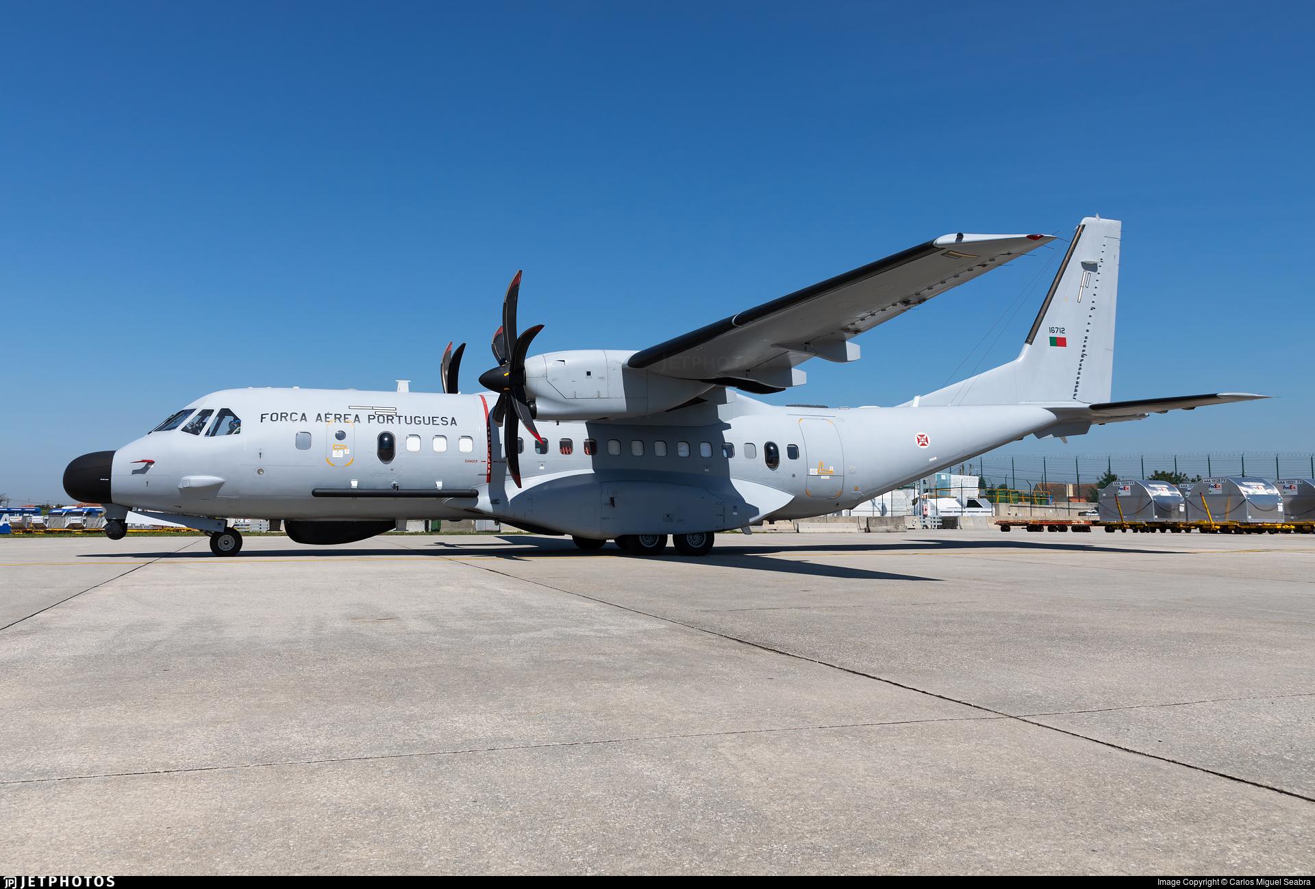 16712 - CASA C-295MP Persuader - Portugal - Air Force