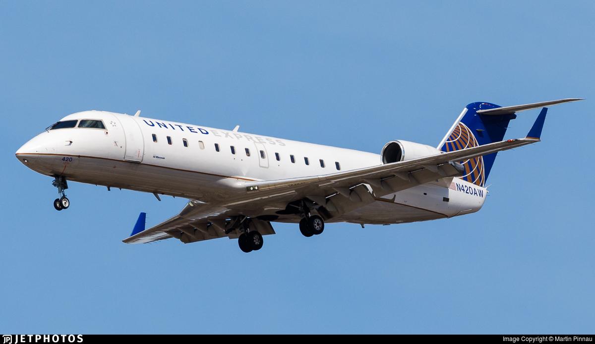 N420AW - Bombardier CRJ-200LR - United Express (Air Wisconsin)