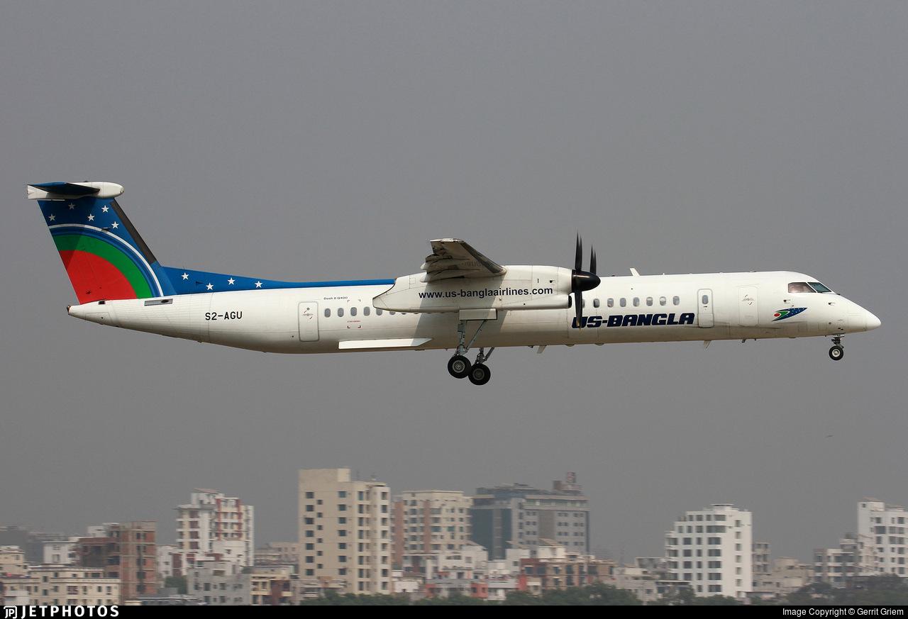 S2-AGU - Bombardier Dash 8-Q402 - US-Bangla Airlines
