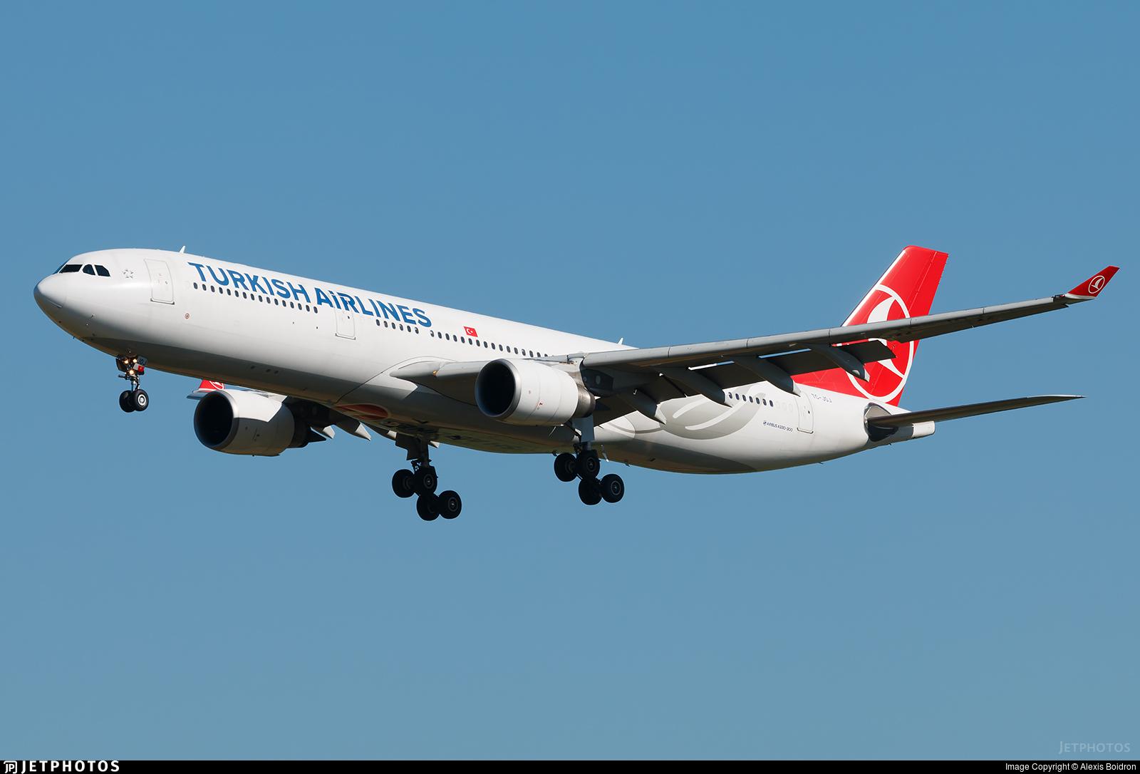 TC-JOJ - Airbus A330-303 - Turkish Airlines