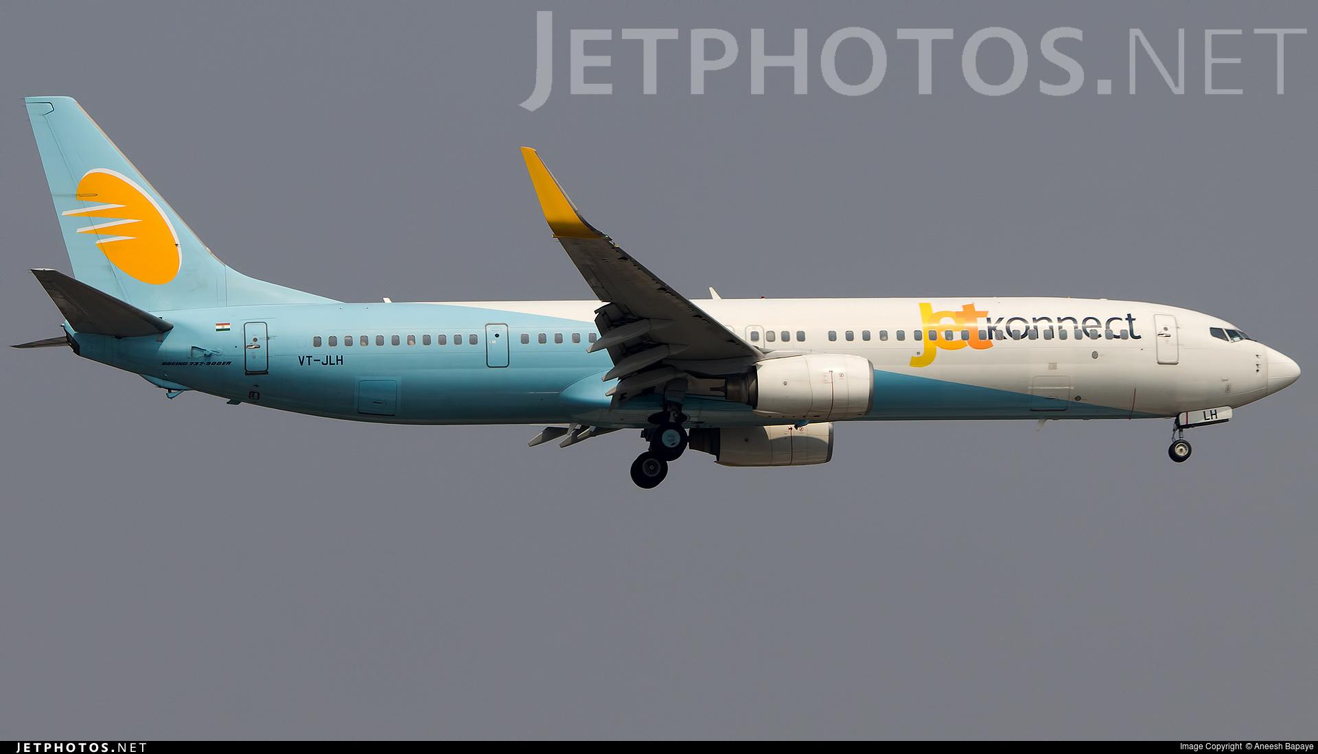 VT-JLH - Boeing 737-96NER - Jet Konnect
